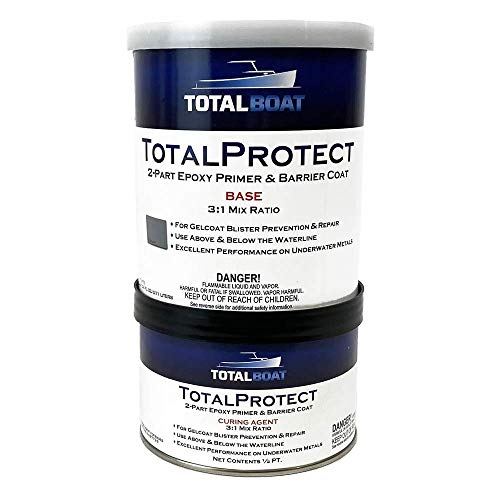 TotalBoat-439900 TotalProtect Epoxy Barrier Coat System (Gray, Gallon)