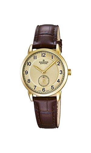 Candino Damen Analog Quarz Uhr mit Leder Armband C4594/3