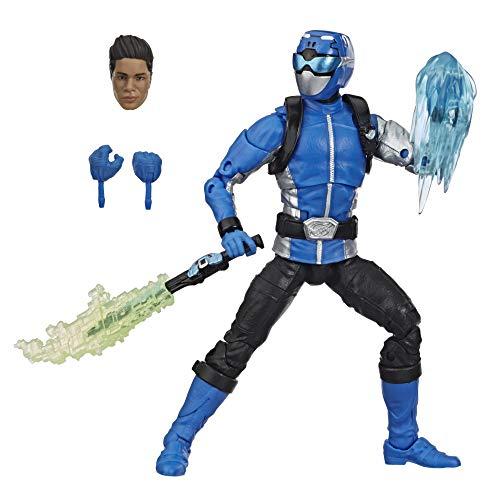 Power Rangers Lightning Collection - Figurine Ranger Bleu Beast Morphers de 15 cm