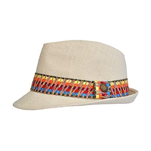 TOUTACOO, Chapeau de paille Copacabana, Panama - Mixte - Chic et Tendance