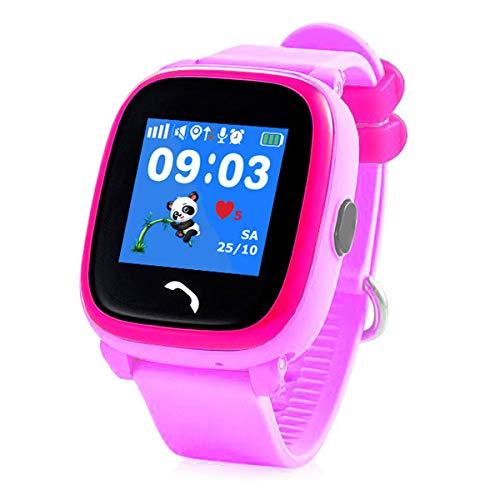 VIDIMENSIO GPS Telefon Uhr Kleiner Delfin - violett (Wifi), WASSERDICHT, OHNE Abhörfunktion