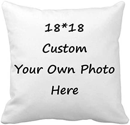 Custom Pillow Case Design Photos or Text Customize Throw Pillowcase Personalized Pet Photo Pillow product image