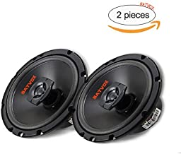 BATVOX 6.5 Inch car Speakers 2-Way,Full Range Car Audio Stereo Speakers ,Rear Speakers in Automotive-Set of 2