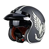 casco retro jet