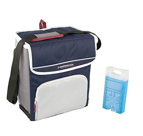 altigasi Sac thermique Campingaz Fold'N Cool Campingaz de 20 litres avec bandoulière réglable et et pochette frontale- prestation jusqu'à 12 + 1 pièce Freez Pack m10
