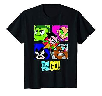 Kids DC Comics Teen Titans Go! Group Shot Box Up T-Shirt