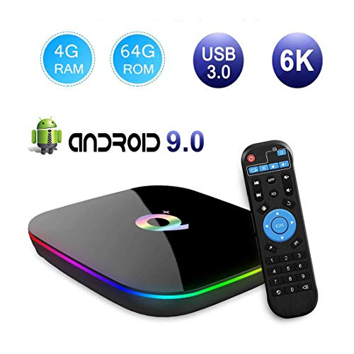 Android TV Box Smart 3D Multimedia Box 4GB RAM / 64GB ROM H6 Quad-Core Cortex-A53 2G Mali-T720MP2 WiFi 2.4GHz ondersteunt 6K H.265 HDMI 2.0