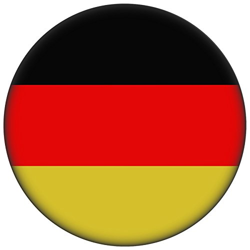 FanShirts4u Button/Badge/Pin - I Love DEUTSCHLAND Fahne Flagge GERMANY (Deutschland/Flagge)