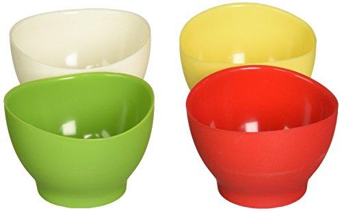 iSi Gourmet Siphon culinaire et crème, Silicone, Rouge/blanc/vert/jaune, 2 Ounce