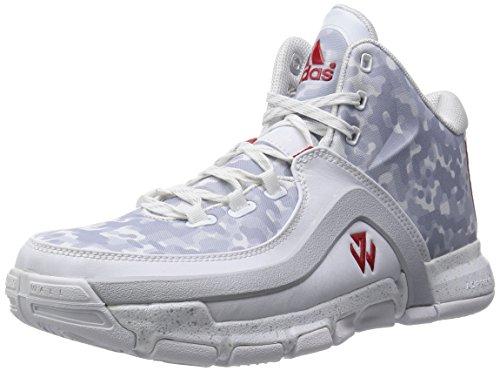 Adidas J Wall 2 - ftwwht/clegre/ftwwht, Mehrfarbig, 46 EU / 11 UK / 11.5 US