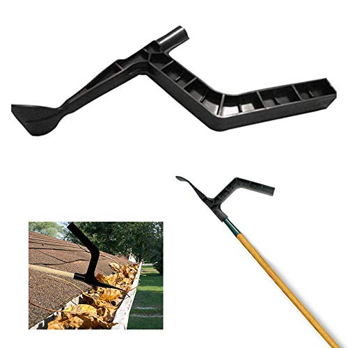 (1 Pcs) Gutter Cleaning Tool, Roof Gutters Cleaning Shovel and Claw, Leaves cleaning tools for Garden, Ditch, Villas, Townhouse, Sewer, Can be Used for House Gutter Cleaning