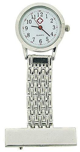 The Olivia Collection nw-009 Silver – Montre de Poche, Bracelet en Métal Couleur Argent