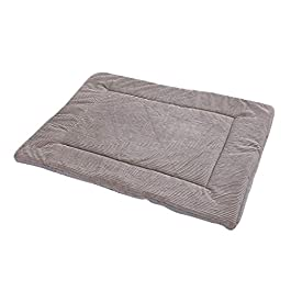 H.eternal(TM) Dog Basket Bed for Puppy,New Pet Short Plush Bed Mat Warm Sleeping Mattress for Small Medium Big Dog Cat Pet Cushion Washable Removable Sleeping Kennel