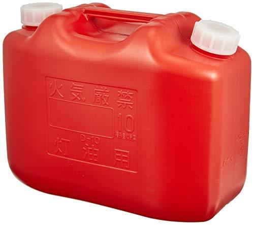 コダマ 灯油缶KT002 赤 KT002RED