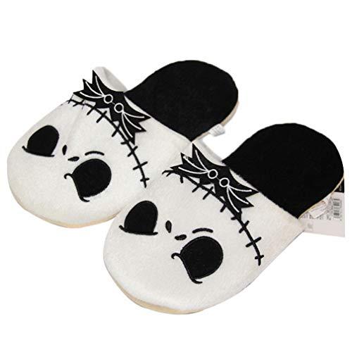 Zapatillas Pesadilla Antes de Navidad Zapatillas de Felpa Jack Home Zapatillas de...