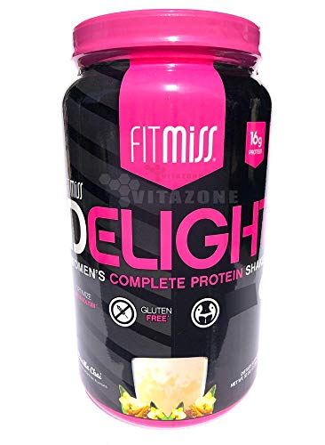 FitMiss Delight Protein Powder, Healthy Nutritional Shake for Women,...