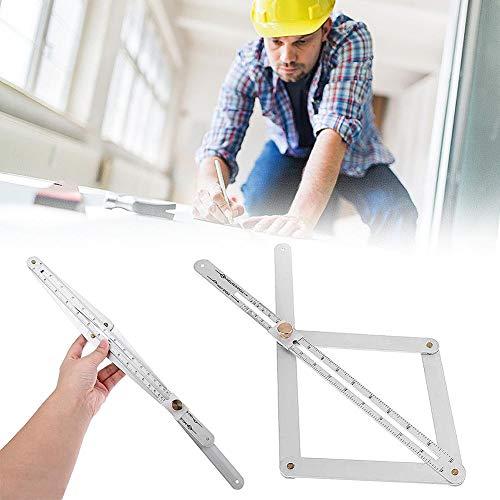 starter Eckwinkelsucher Aus Edelstahl - Deckenartefakt Werkzeug Geschwindigkeit Winkelmesser - Winkelanordnung Messlineal | Universal Angularizer Ruler-Multi Angle Holzbearbeitungszubehör