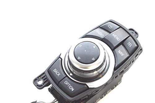 7F01 730d 2009 RHD CIC Navi iDrive Controller-Knopf Panel 9206444 10799026