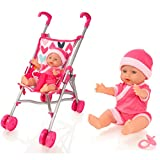 Molly Dolly My First Dolls Pram & Doll Set - Girls...