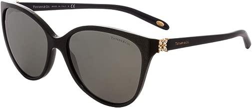 Tiffany TF4089B 82116G Pearl Grey TF4089B Cats Eyes Sunglasses Lens Category 3