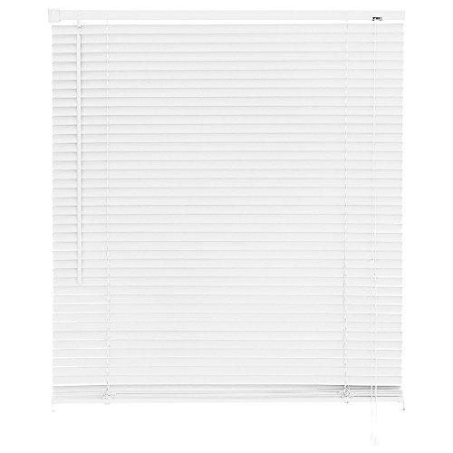 Persiana Horizontal Plástico, Primafer, Branco, 80x160 cm