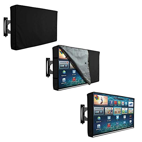 ZWH-Gartenabdeckung Möbelbezug TV-Außenbezug Transparenter Film Wasserdichter Staubschutz (Size : 36-38)