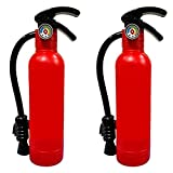 2 Pack Fire Extinguisher Squirt Toys, 550CC Realistic Firefighter Water Gun Toys for Kids Boys Girls Children, Summer Swimming Pool Beach Outdoor Water Fighting Play Toys Gift, Halloween Cosplay Props