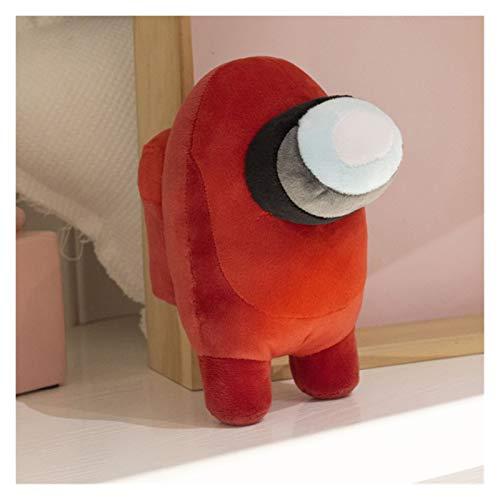 Gzjdtkj Stuffed toy 1 pc 20cm Plush Stuffed Dolls Kawaii Game Anime Figure Among Us Plushies Toy Kids Toy Birthday for Boy (Color : Red A, Height : 20cm)