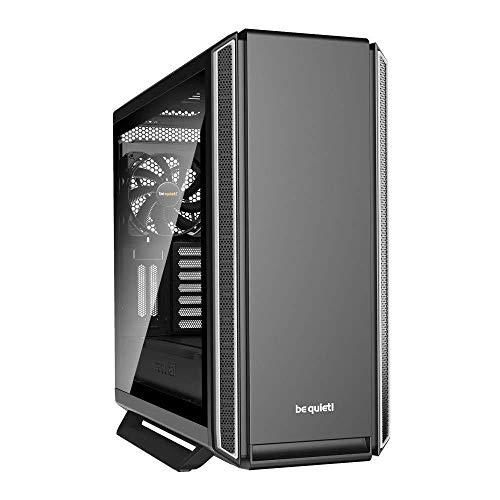 be quiet! Silent Base 801 ATX PC Midi Gehäuse mit Seitenfenster Schwarz/Silber BGW30
