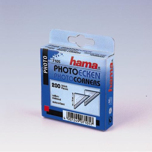 Hama Photoecken, 200 Stück