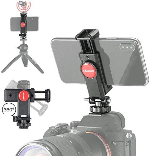 ULANZI ST-06 Camera Hot Shoe Phone Holder Flexible...