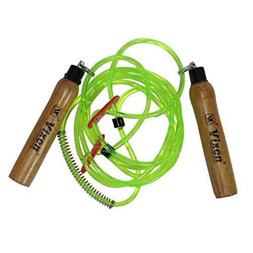 Vixen Club Skipping Rope | for Gym Training, Exercise and Workout | Olive Green