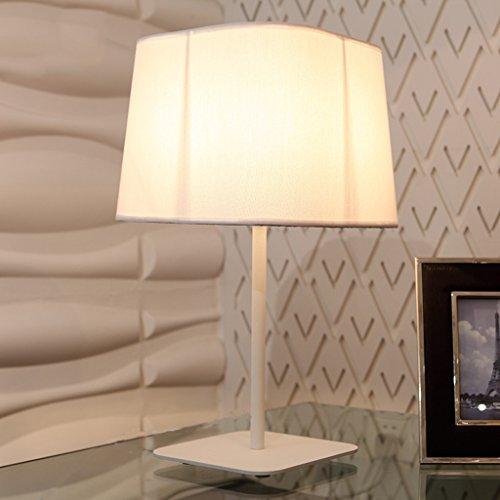 Bonne chose lampe de table Lampadaire Minimaliste Moderne Lampe de chevet de chambre Lampes de mode créatives Lampe de lecture de lecture personnalisée ( Couleur : Blanc )