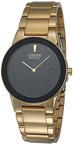Citizen AU1062-56E - Reloj para Hombres, Correa de Acero Inoxidable Color Dorado