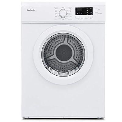 Montpellier MVSD7W 7kg Tumble Dryer Vented Sensor Drying White