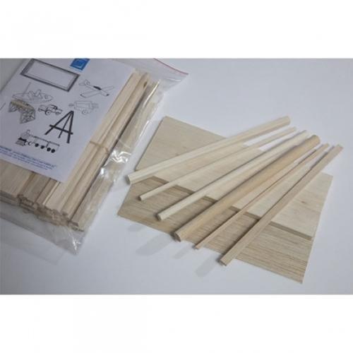 Sg Educación balsakit Kit de modelado de madera de Balsa