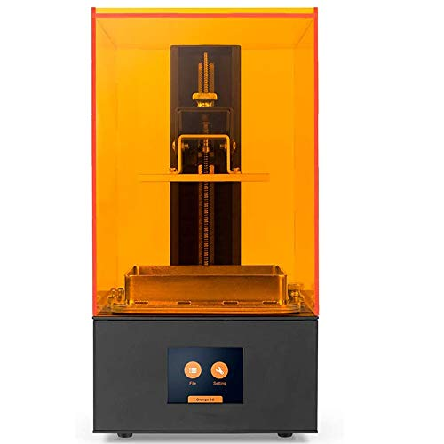 CIJK Photon Zero 3D Printer, LCD Resin 3D Printer Assembled with Anti-Aliasing Function And UV Cooling System & Upgraded UV Module, Build Size 3.81'X2.12'X5.9', Black