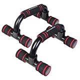 SONGMICS Push-Up Stands, Push-Up Bars for Home Exercise, Padded and Angled Grip, Push-Up Handles,...