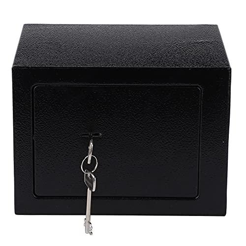 Caja de Almacenamiento Segura, Caja de Almacenamiento Caja de Seguridad Caja de Seguridad 4.6L Caja de Seguridad para Documentos de joyería en Efectivo de la Oficina en casa