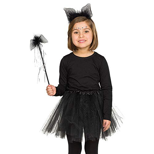 WOOOOZY Kostüm-Set Fledermaus 2-teilig für Kinder