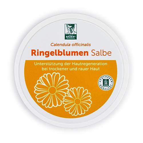 BADERs unguento di calendula dalla farmacia. Calendula officinalis con preziosi estratti vegetali. 100 ml