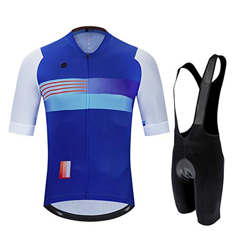 WPW Conjunto de Maillot de Ciclismo para Hombre, Ropa de Ciclo Respirable...