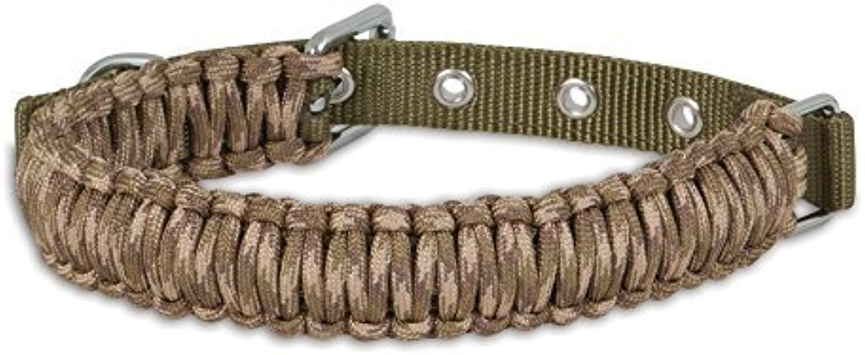 Aspen Pet Paracord Dog Collar, Small 3 4 by 1418, Camo by Aspen Pet