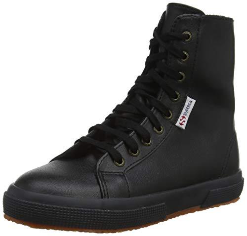 Superga 2040-synfglj Klassische Unisex-Kinder Stiefel, Schwarz - Nero Black 999 - Größe: 26 EU