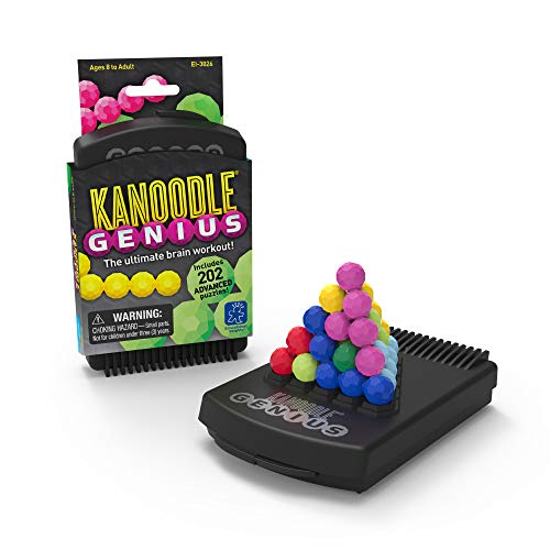 Educational Insights Kanoodle Genius | Brain Twisting 3-D Puzzle Game for Kids, Teens & Adults |...