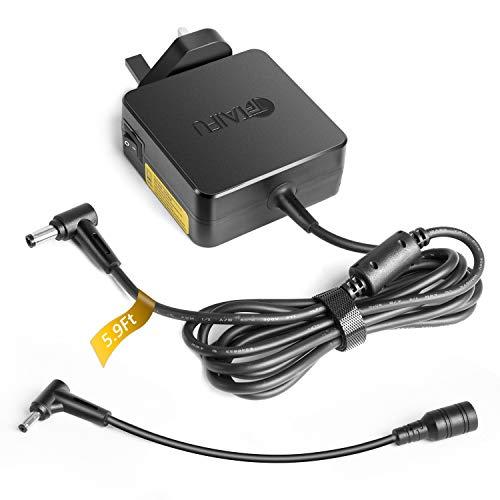 TAIFU 19V 3,42A Adaptador Cargador para Portátil ASUS VivoBook S14 S15 S406UA S510U S430FA D540NA E406SA UX430UA X551 X553S Zenbook UX331UA UX443FN Medion Akoya S3409 E3213 Fuente alimentación 65W