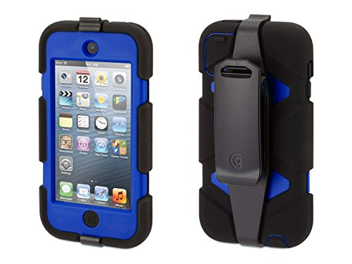 Survivor All Terrain Case Compatible with iPod Touch 5th Gen (Black)
