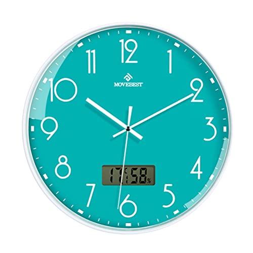Reloj De Pared Azul