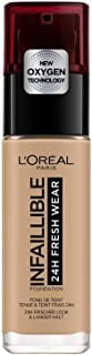 L'Oréal Paris Make-up designer Infalible 24H Fresh Wear Base de Maquillaje de Larga Duración - Tono 150 Beige Eclat, 30 ml