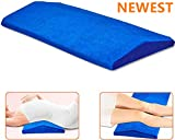 Gel Cooling Lumbar Support Pillow for Sleeping Memory Foam Pillow for Back Pain